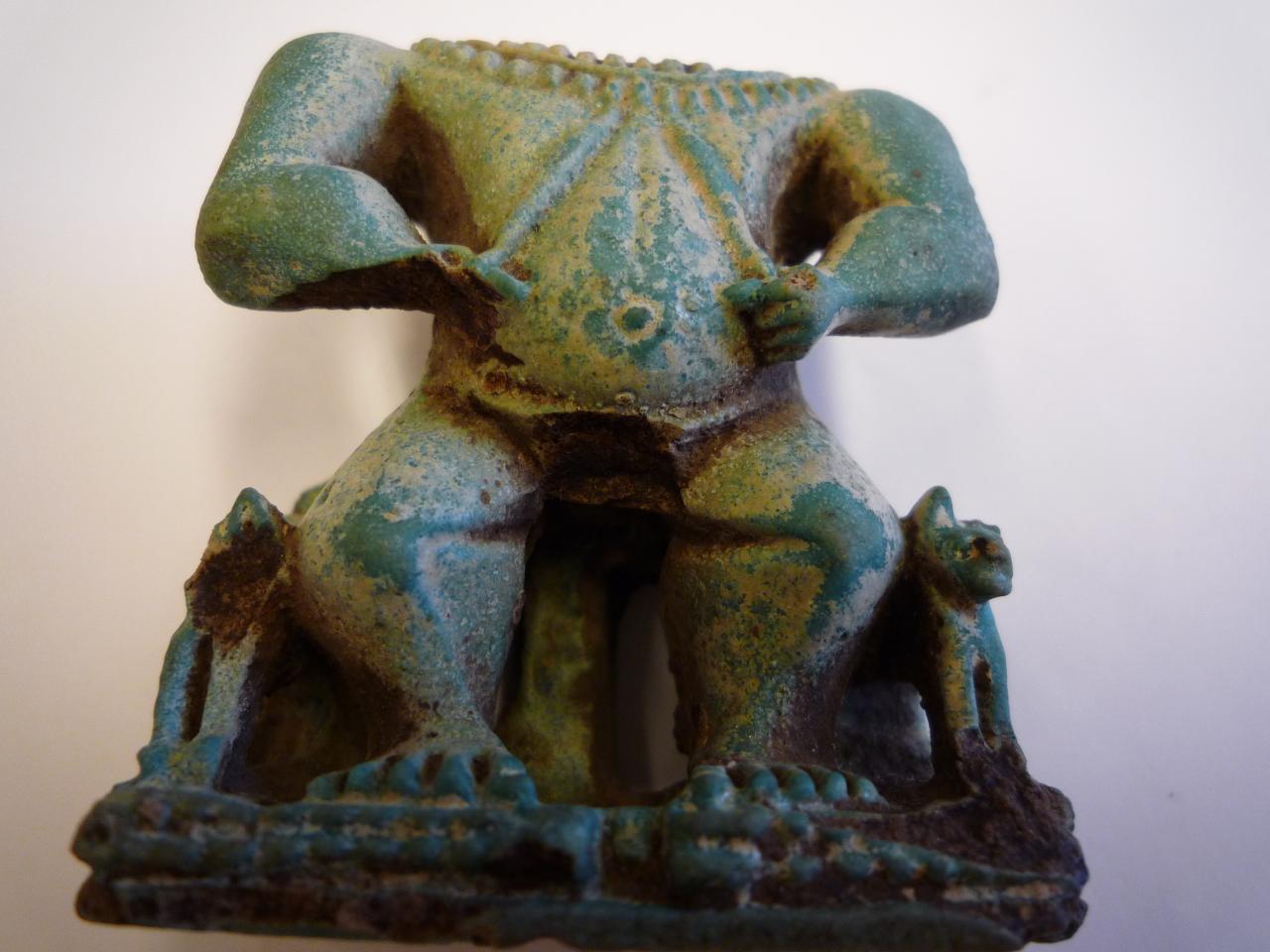 Ptah-Patèque - Faïence égyptienne
