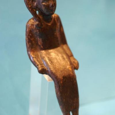 Horus l'enfant (Harpocrate) - Bois - 3ème Période Intermédiaire