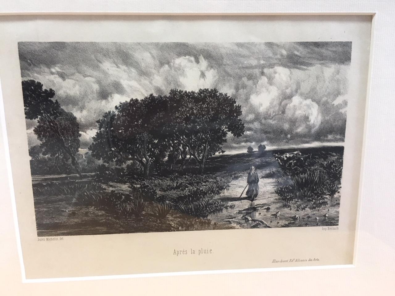 """Jules Michelin """"Après la pluie"""""""
