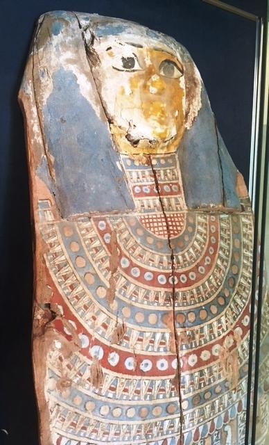 Couvercle de sarcophage - Epoque Ptolémaïque