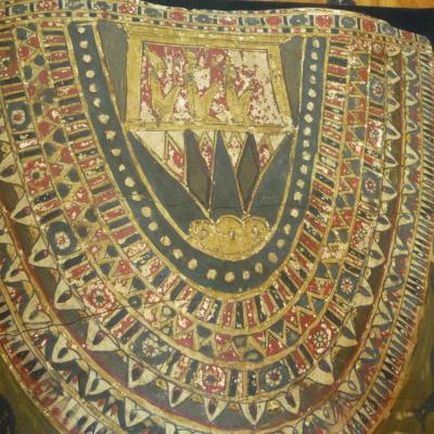 Couverture de momie au nom de Horiou