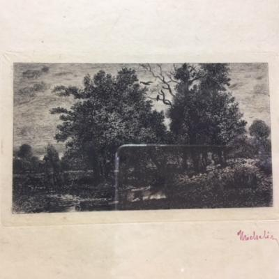 "Jules Michelin ""Soir triste"", 1872"