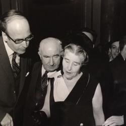 J. Jacquiot avec Valérie Giscard D'Estaing