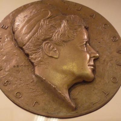 Josèphe Jacquiot, Conservateur Honoraire du Cabinet des Médailles, fondatrice du Musée