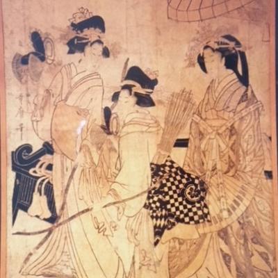 Kitagawa Utamaro, Japon, époque d'Edo