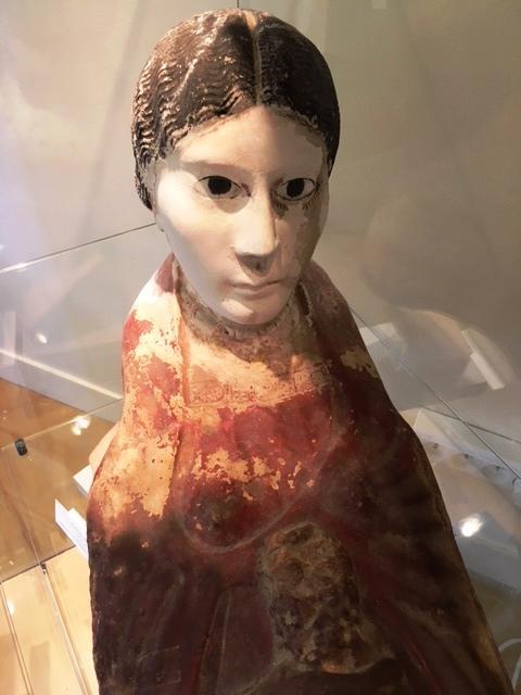 Masque plastron de momie - Egypte - Epoque Romaine IIIe siècle av. J-C