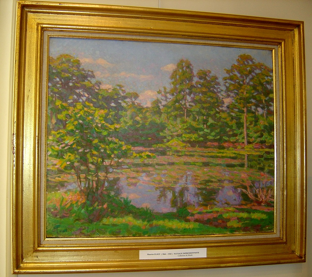 "Maurice Eliot ""Paysage impressioniste"""