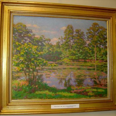 """Maurice Elliot """"Paysage impressioniste"""""""