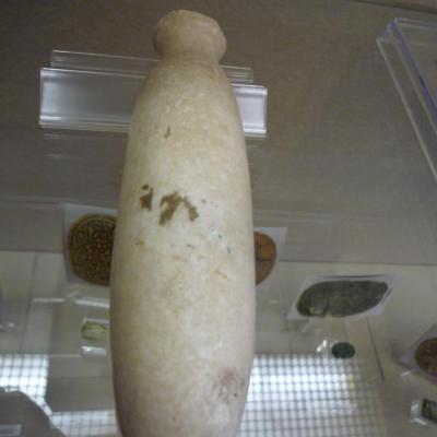 Vase d'albâtre de type alabastron - Epoque Saïte