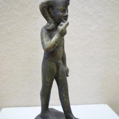 Horus l'enfant (Harpocrate) - Bronze - Basse Epoque