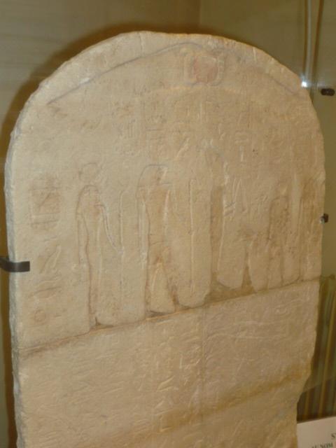 Stèle au nom de Hor-Ankh - Début de la XXVIème Dynastie