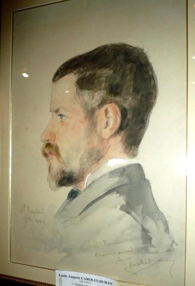 """Carolus Duran """"Portrait de Ravel"""""""