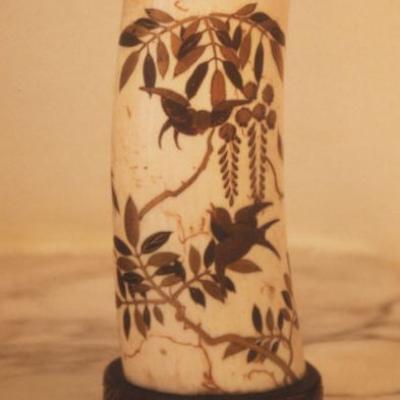 Pot à pinceaux, Japon, époque Meiji (1868-1912)