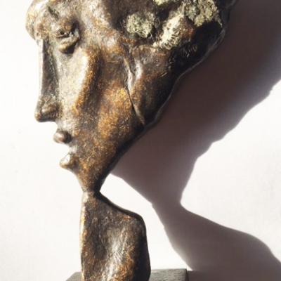 Profil calabrais par G. Busato (médaille-objet)