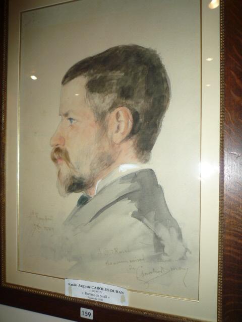 """"""" Portrait de Ravel """" par Carolus Duran"""