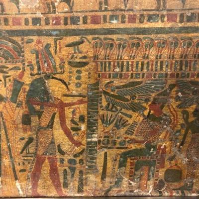 Panneau de Cercueil (Scène de Droite)