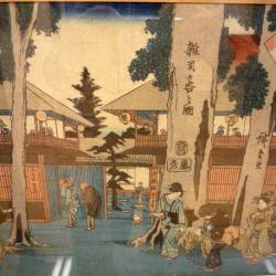Utagawa Hiroshige, Japon, Epoque d' Edo