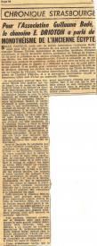 Dernieres nouvelles d alsace 19 nov 1957