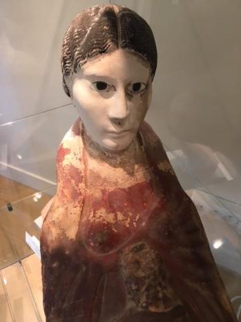 Masque plastron de momie egypte epoque romaine iiie siecle 1 1