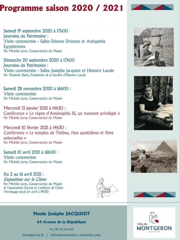 Programme musee 2020 2021